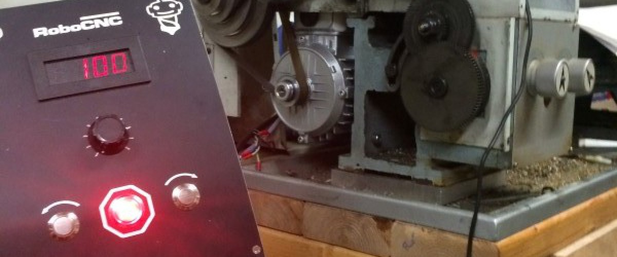 CQ6125 Lathe conversion to VFD variable speed.